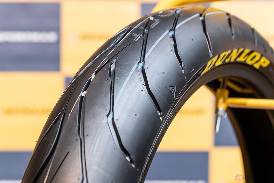 タイヤ バイク リッターバイクのパンク修理後について